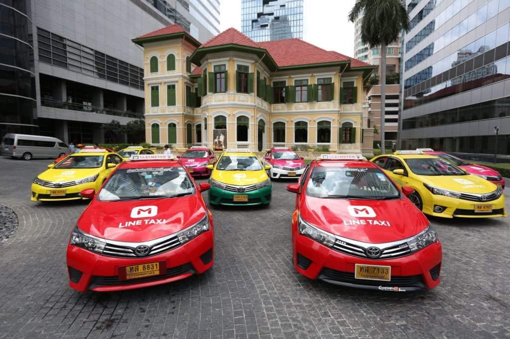 מונית בבנגקוק תאילנד