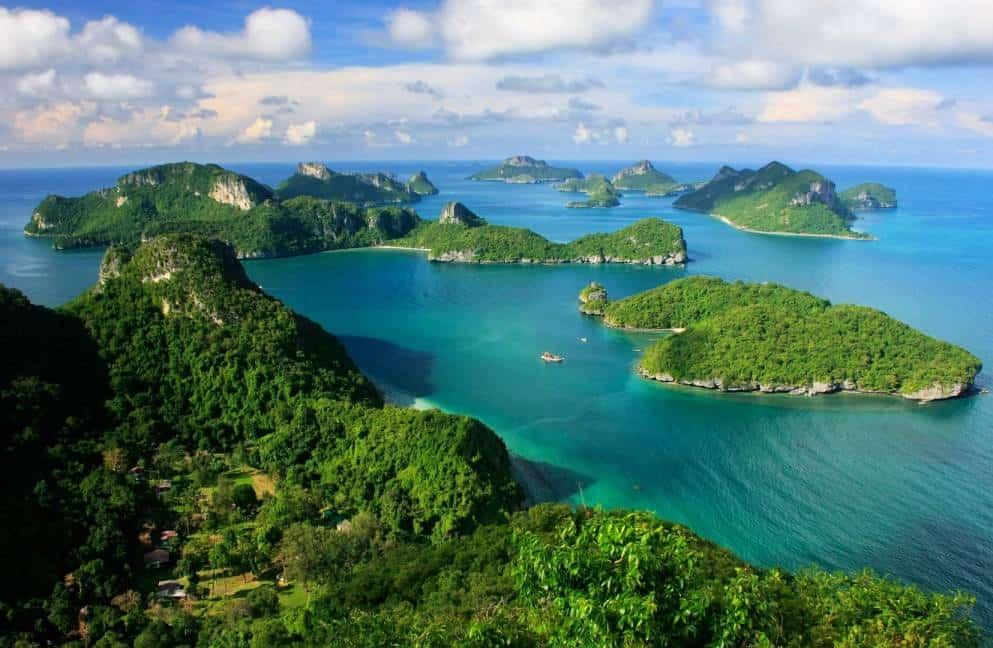 טיול 42 האיים בקוסמוי