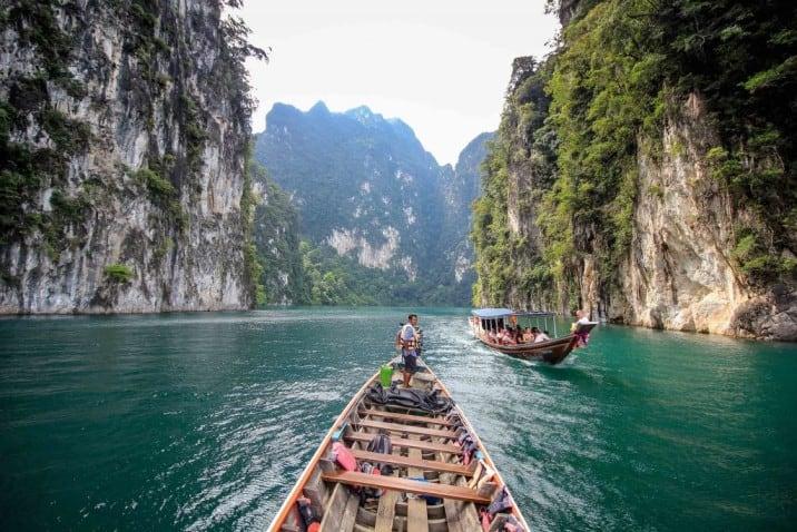אגם צ'או לאן תאילנד