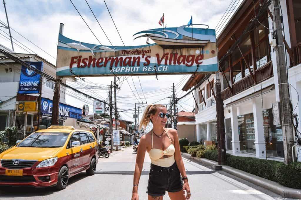 כפר הדייגים בקוסמוי
